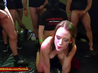 any brunette, nice young, pissing
