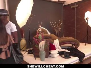 Shewillcheat - Tiny Asian Wife Drilled by Photographer