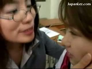 Asian Schoolgirl Lesbian Kiss - ... hq japanese fresh, see lesbian hottest, asian check Schoolgirl In  Uniform Kissing ...