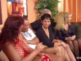 Grandma in swinger club free clips