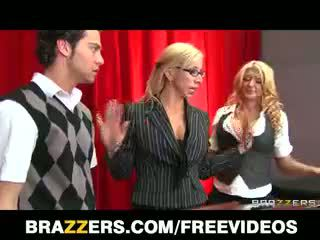Leya Falcon Deepthroats And Gags On A Huge Cock At School