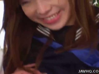 hot coed ideell, mer japanese kvalitet, blowjob moro