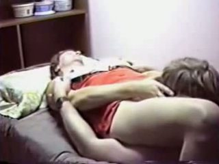 Granny Gets Pussy Licked By Young Stud