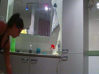 zien badkamer tube, eigengemaakt actie, meer amateur porn archief scène
