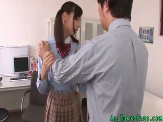 Asian schoolgirl creamed