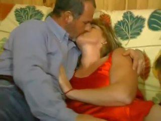 French Threesome: Free Mature Porn Video b7