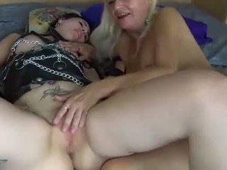 Lesbiene tineri și matura femei