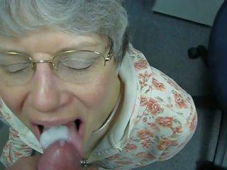 Oma liebt warmes sperma im mund, brezplačno porno c7