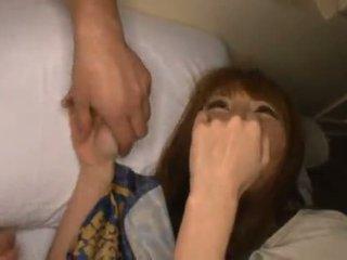 Miku ohashi admires the fellow round her nice shagging skills
