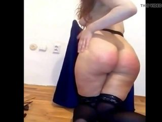 Selfspanking for Master 8, Free Whipping Porn 8b