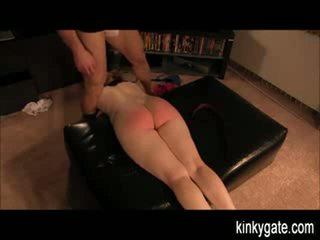 Flogging My Sub Simone Who Worships My Dick