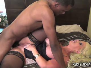 Pornstarplatinum - alura jenson och svart vän