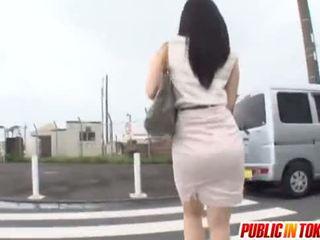 japonec, nadržaný, autobus