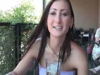 brunette seks, naakt scène, knipperende video-