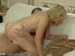 21sextreme Horny Granny Rides Young Studs Throbbing Cockv