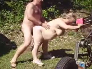 nice grannies action, big natural tits channel, creampie thumbnail
