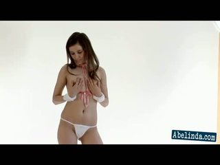 panas striptis, brunettes, remaja