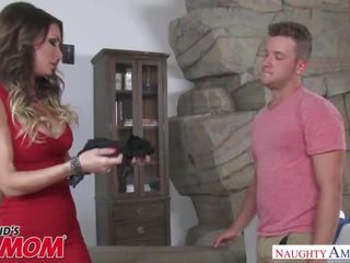 Hot young mom Jessica Jaymes wants to fuck a big dick