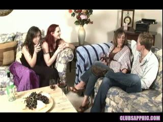 Mz Berlin And Sinn Sage Invite Over Alex Mackay And Zoey Stone For Some Wine