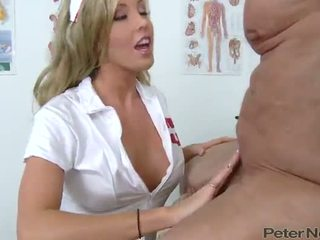 Samantha Saint The Sexiest Nurse Has Fucked By Her Patient