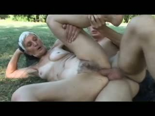 vers grannies porno, oude + young scène, gratis buiten- neuken