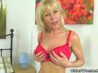 meest brits kanaal, heet grannies vid, een matures video-