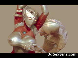 3d aliens y monsters joder niñas!