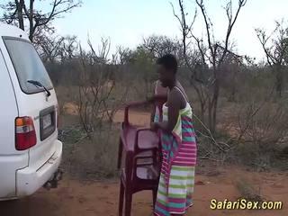 Metsik aafrika safari seks orgia, tasuta metsik seks hd porno 33