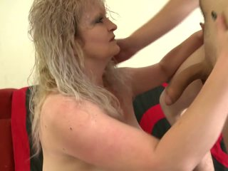 Dirty Mother Blows and Fucks Young Son, Porn 47