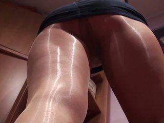 Alss Shiny Pantyhose 1, Free Spanking HD Porn 89