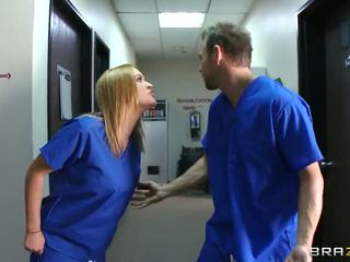 Horny Head Nurse Krissy Lynn Can T Wait Until The End