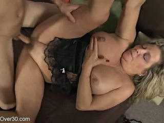 51 Years old chick in action