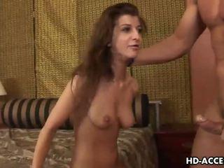 brunette, oral sex, blowjobs