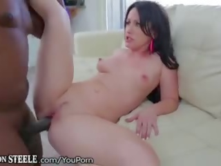 Lex Steeles Foot Long Cock in Jennifers Ass!