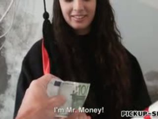 Sexy Teen Kerry Raven Facialed For Cash