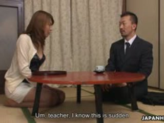 Gorgeous Japanese Lady Jun Kusanagi Is Ready For Two Nice