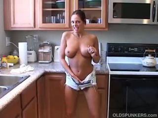 kwaliteit brunette thumbnail, heet poema klem, beste gestapelde seks