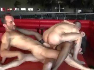 ideaal dubbele penetratie, gangbang porno, een ruige seks