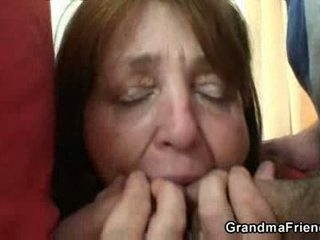 meer mmf, pa, grootmoeder neuken