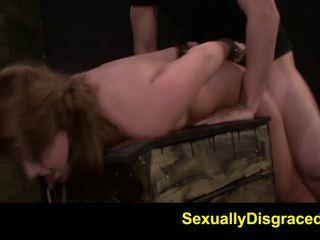FetishNetwork Kayleigh Nichole rough bdsm slave training