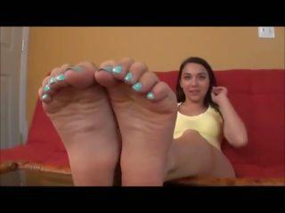 Feet: Free Amateur & Foot Fetish Porn Video f1