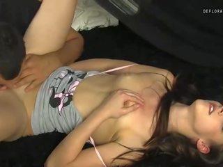 plezier kut likken seks, een maagden, controleren tiener