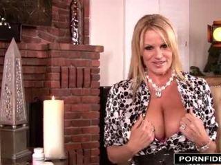 big boobs, cumshot, titty fucking, threesome