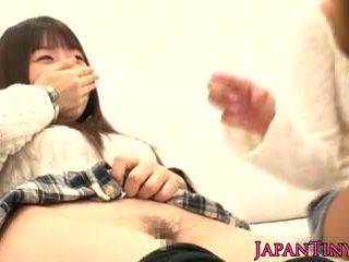 zien japanse video-, gratis trio, een vingerzetting