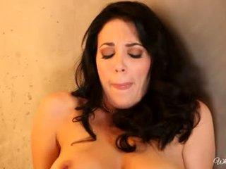 een brunette, alle orale seks film, heet zoenen porno