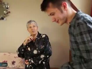 Garry love old lady savana fucked by student sam bourne