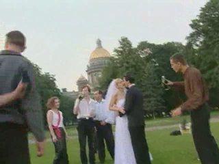 zien gangbang, heetste buiten-, meer brides