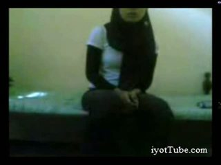 Muslim teen student at dorm part 1