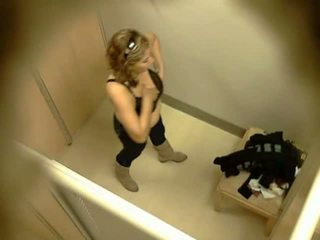 Spycam In Fitting Rooms - Ceiling Cam 4