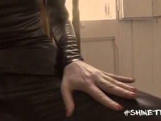 Shine ถุงน่องรัดๆ productions - gio ใน ลาเท็กซ์